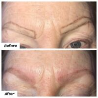 Mobile Microblading $195 Including  5-Week Touch-Up