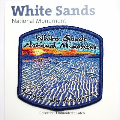 Official White Sands National Monument Souvenir Patch New Mexico Park