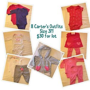 8 baby outfits