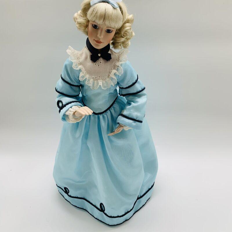 "Lenox Little Women Doll Amy, The Aspiring Artist 16"" Porcelain Doll New"