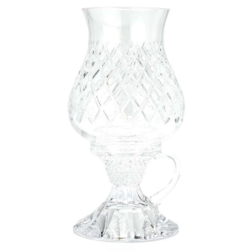 """Waterford Crystal Heritage 2-Piece 10"""" Chamberstick Candle Holder"""
