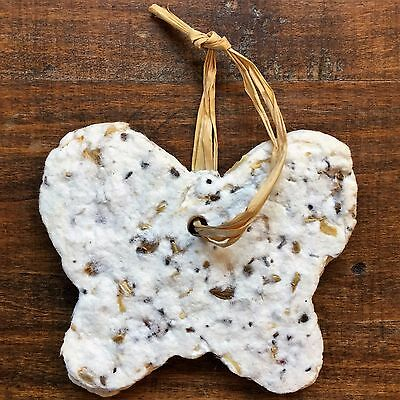 - PLANTABLE Butterfly Shape WILD FLOWER SEED Recycled PAPER Wildflower GIFT TAG 3