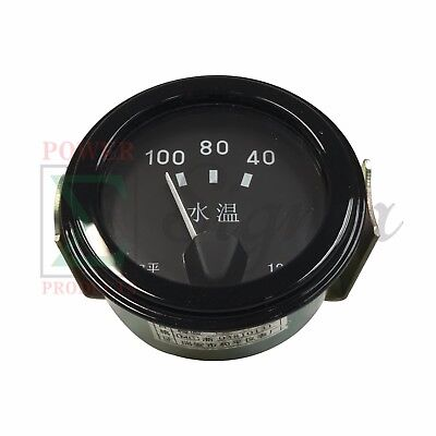 2 Water Temperature Gauge Meter Celsius For Boat Motorcycle Car Truck Generator