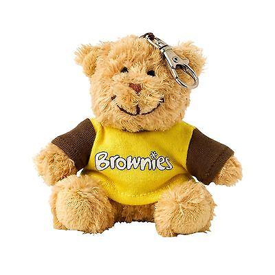 Brownie Girlguiding Teddy Clip Keyring