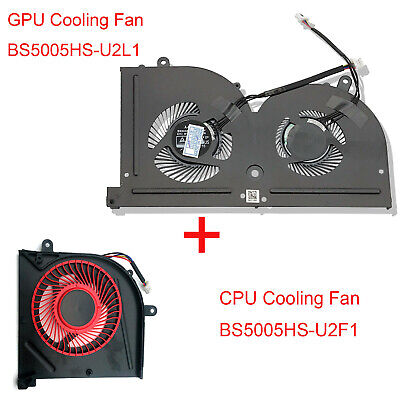 GS73VR Series,New Laptop CPU Cooling Fan for MSI GS63VR//GS73VR 6RF,GS63VR//GS73VR 7RF,GS63VR//GS73VR Stealth Pro,BS5005HS-U2F1 Fan Yoidesu Replacement CPU Cooling Fan for MSI GS63VR