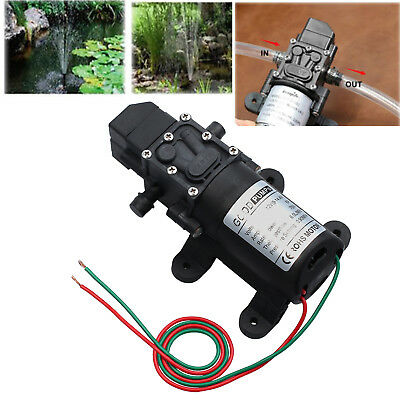 Dc 12v 130psi High Pressure Micro Diaphragm Water Pump Automatic Switch 6lmin