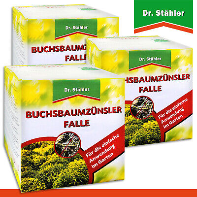 Dr.Stähler 3 X Buchsbaumzünsler-falle