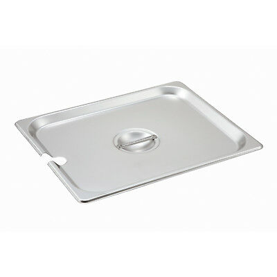 Lid For Steam-table Pan Half Size Slotted