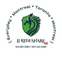 {DAILY RIDES} - 3:30pm/4:30pm - Toronto to Montreal