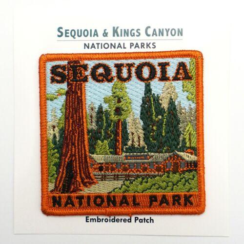 Official Sequoia National Park Souvenir Patch Giant Forest Museum California