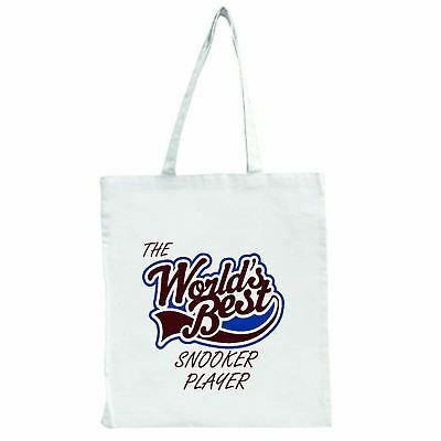 The Worlds Best Snooker Player - Large Tote Shopping Bag