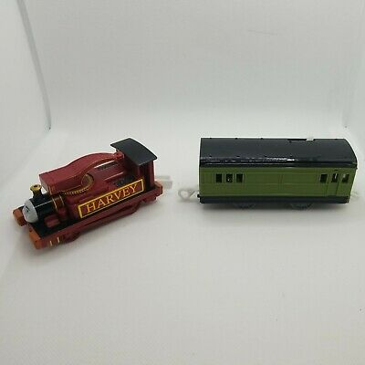 Thomas & Friends Trackmaster Harvey and Motorized Passenger Coach