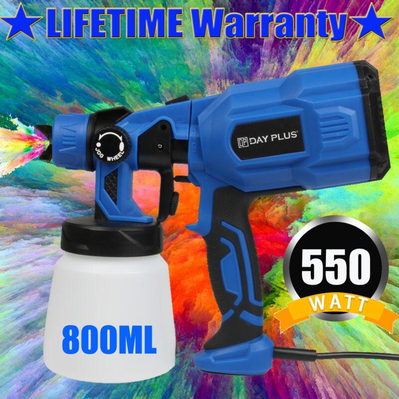 Painting Spray Gun Airless 550W HVLP High Power Home Electric Paint Sprayer New