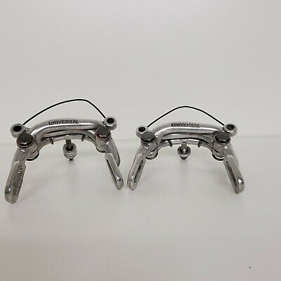 Vintage NOS Shimano Bicycle Centerpull Brake Cable Alloy Yokes Pair