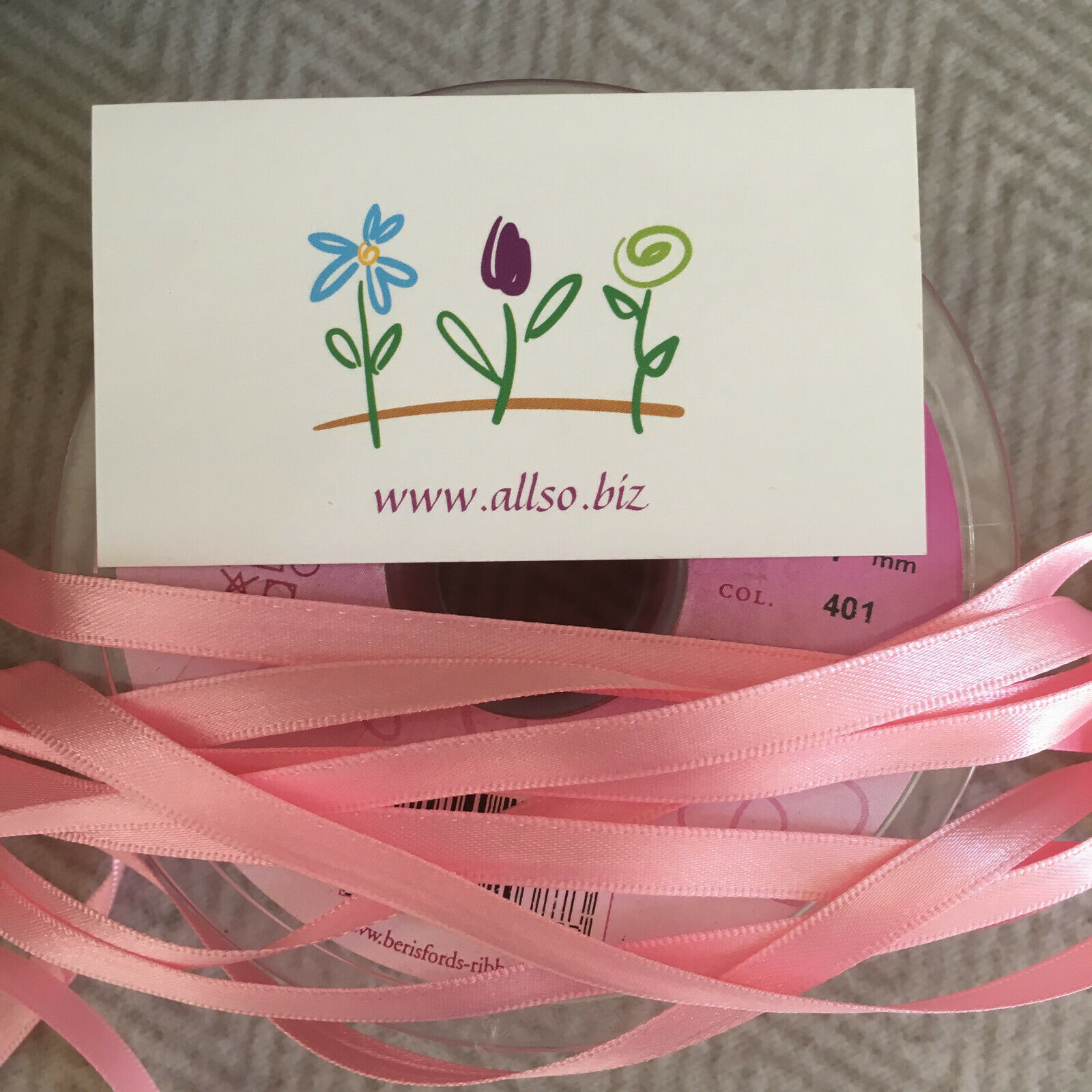 10mm 15mm 25mm 35mm Berisfords Double Satin Ribbon Pink Shades SOLD BY THE METRE