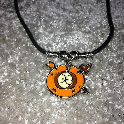Collectable Kenny Character from South Park On A Wax Cord Necklace