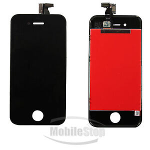 iPhone 4 4G LCD Touch Screen Digitizer Glass Assembly OEM Replacement in Black