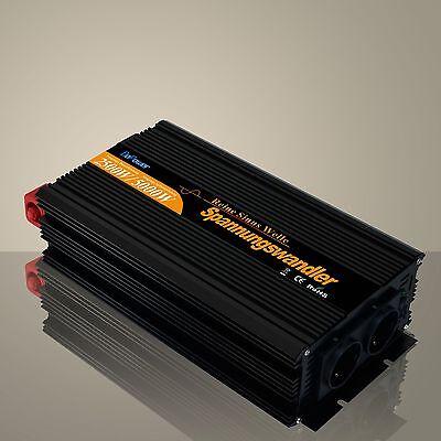 2500W/5000W 24V auf 230V Reiner Sinus Spannungswandler Wechselrichter (Inverter)