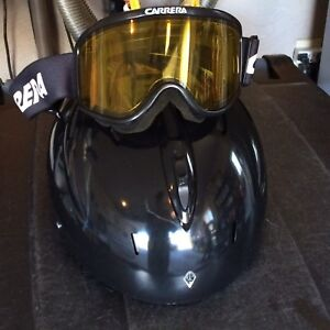 Helmet and goggle set - ski or snowboard $100
