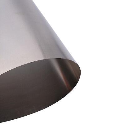 Us Stock 0.1mm X 200mm X 300mm Titanium Foil Plate Sheet Ta2 99 Purity