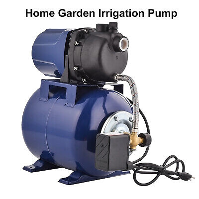1.6 Hp Electric Shallow Well Pressurized Home Irrigation Garden Water Pump New