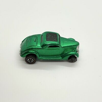 Hot WHEELS,REDLINE,CLASSIC '36 FORD COUPE Green 1968