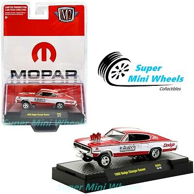 M2 Machines 1966 Dodge Charger Mopar Gasser (Red) - Hobby Exclusive - 1/64