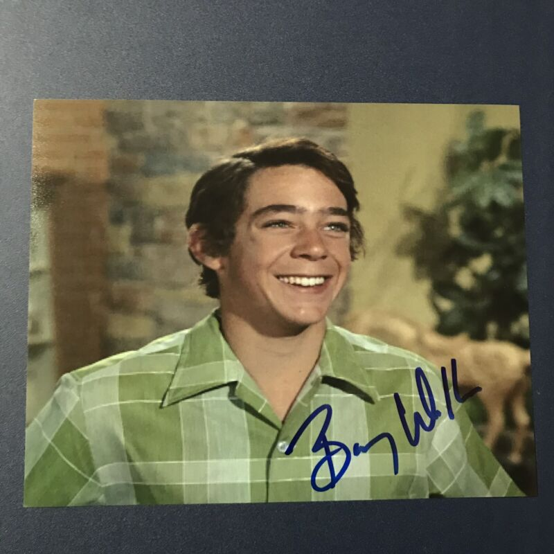 BARRY WILLIAMS HAND SIGNED 8x10 PHOTO THE BRADY BUNCH ACTOR AUTOGRAPHED RARE COA