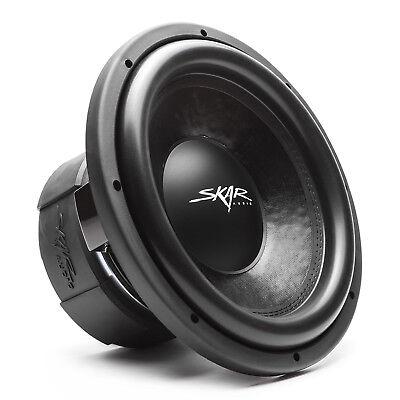 "NEW SKAR AUDIO DDX-15 D2 - 15"" 1,500 WATT DUAL 2 OHM COMPETITION CAR SUBWOOFER"