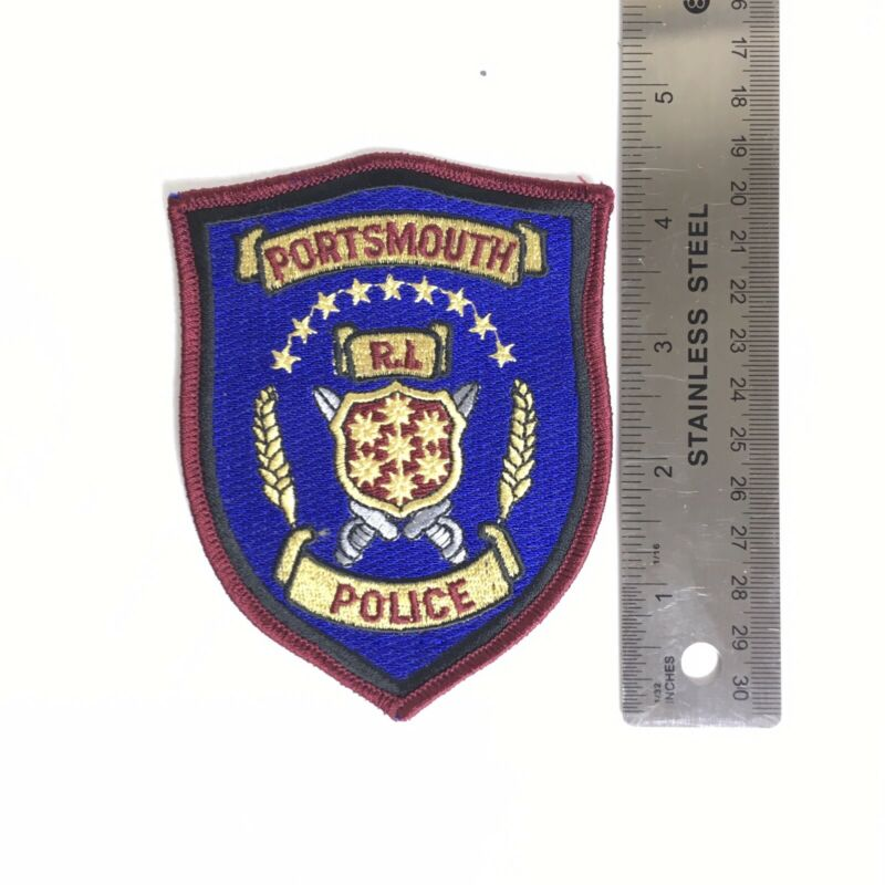 PORTSMOUTH POLICE PATCH RI RHODE ISLAND EAST BAY PD