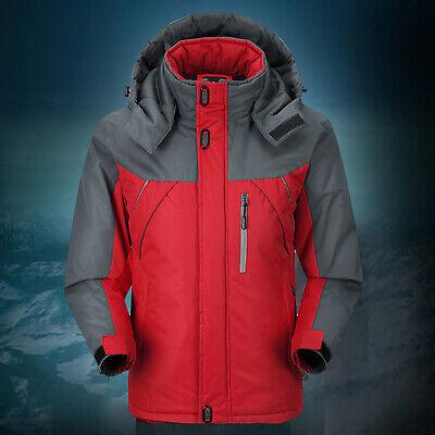 Men Women Winter Warm Outdoor Jacket Fleece Waterproof Ski Snowboard Sports Coat