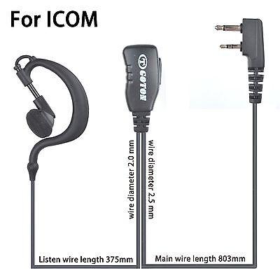Earpiece Headset Earphone for ICOM IC-V8 V80 V80E V82 V85 F4