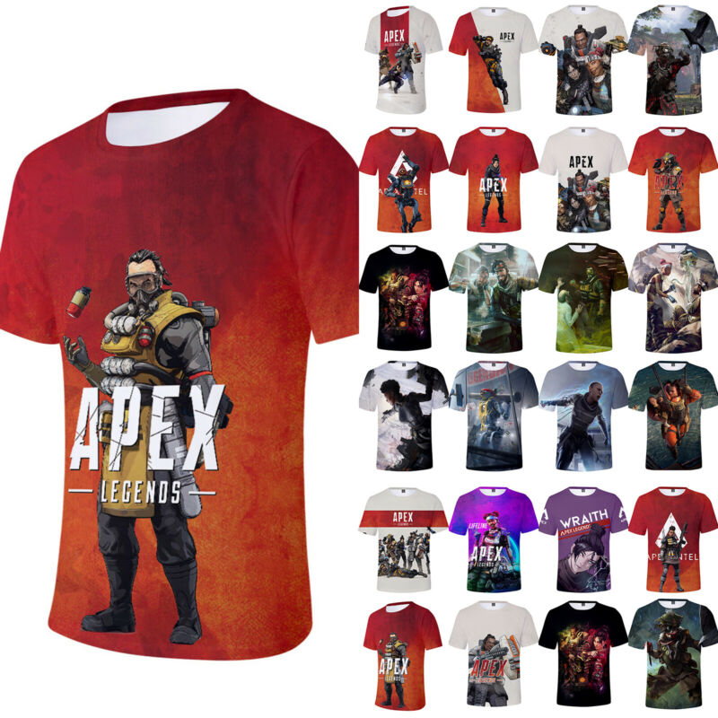 BLOODHOUND Technological Tracker Apex Legends Adults /& Kids T-Shirt