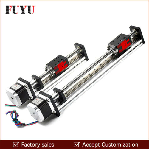 CNC Linear Guide Rail Slide Stage Actuator Ball Screw Motion Table Nema 23 Motor