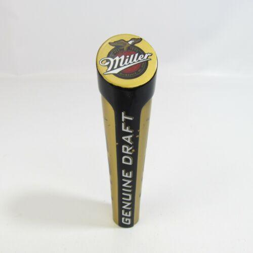 """Vintage Miller Genuine Draft Beer Tap Handle MGD Tapper 6"""""""