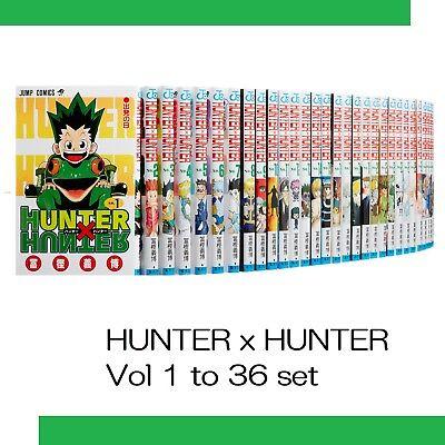 HUNTER x Hunter Vol 1 to 36 japanese manga Jump comics japan