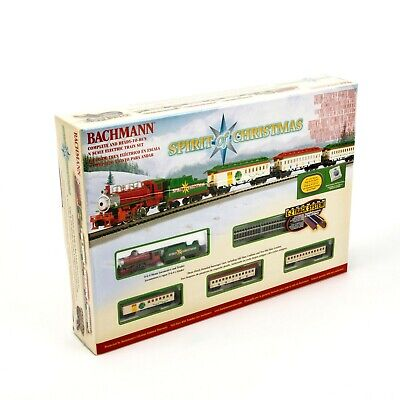 The Spirit of Christmas Bachmann N Scale Ready To Run Electric Train Set 24017