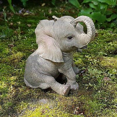 Elefanten Deko Figur Tierfigur Afrika Safari Steppe Dschungel Wildlife Elefant
