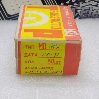 50x Mp40a Russian Military Germanium Pnp Transistor 40
