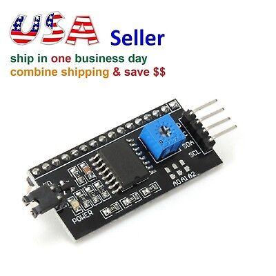 Board Module Port Iici2ctwispi Serial Interface For Arduino 1602 Lcd Display