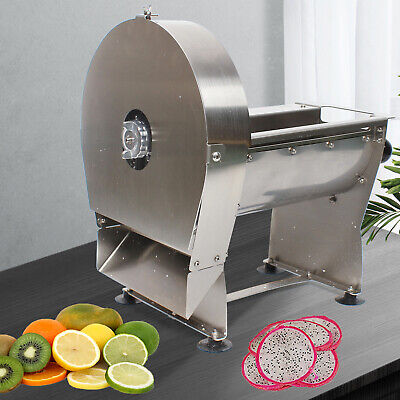 Stainless Steel Restaurant Home Electric Foodmeat Slicer Commercial Cheese 220v