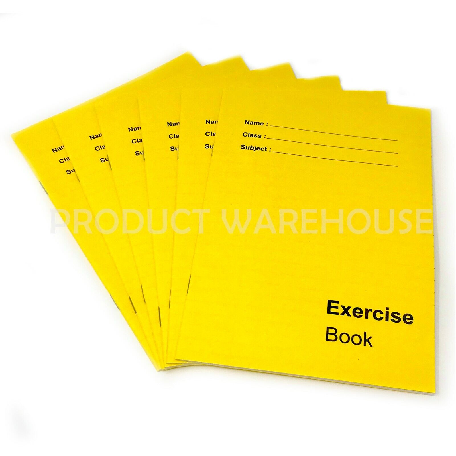 Exercise /& Maths 5 Books Multipack School A4/&A5 80 Page Lined /& Squared Children