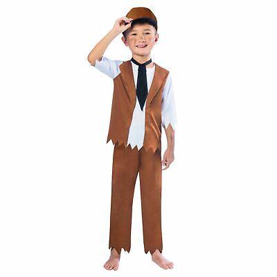 Victorian Boy Verkleidung Buchwoche Geschichte Bengel Street Rat Kinder - Geschichte Buch Woche Kostüm