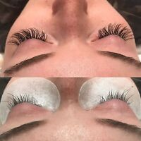 Certified Experienced Eyelash Extensions Stylist starting  $65!