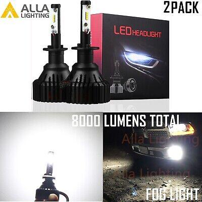 Alla Lighting UM BEST LED H1 Headlight Bulb Conversion White 6000K (Best Automotive Headlight Bulbs)