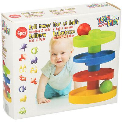 Ball Turm Kugelbahn Murmelbahn Baby Kleinkind Motorik Spielzeug
