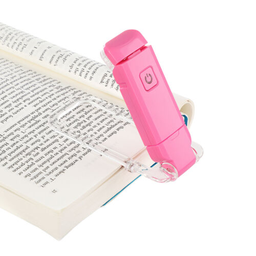DEWENWILS USB Rechargeable Book Reading Light Warm White Adjustable HBRL01P