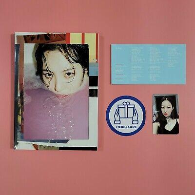 Sunmi Gashina 1st Single Special Edition album Photobook CD rare item photo card