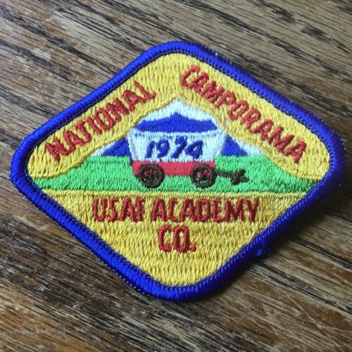 1974 ROYAL RANGERS National Camporama Patch