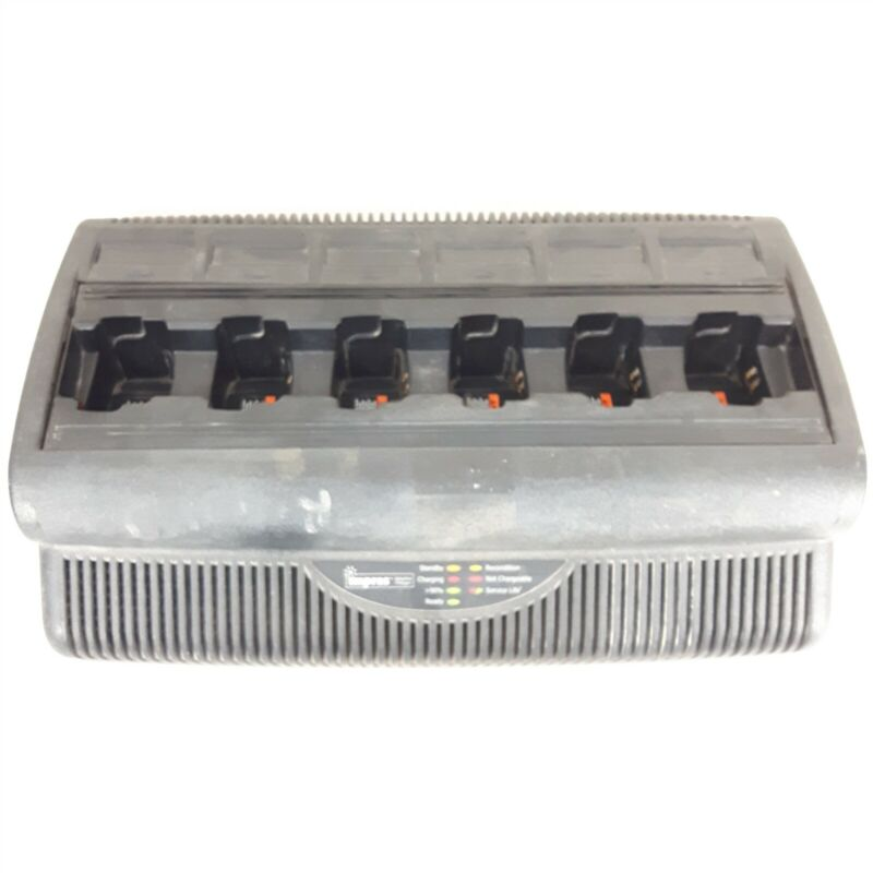 Motorola WPLN4197A 6-Slot Charging Dock Radio Battery Charger